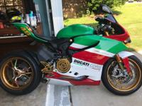 2013 panigale 1199s abs 4200mile Most of the gold parts