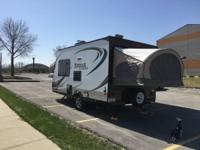 2013 Dutchmen Kodiak Express M172E Travel Trailer. This