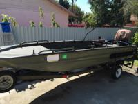 2013 Excel 17 Open Floor Plan fishing or hunting boat