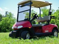 Seeking a golf cart that prepares to attack the