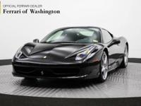 This outstanding example of a 2013 Ferrari 458 Italia