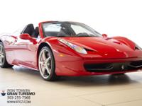 This exceptional 2013 Ferrari 458 Spider will be