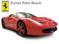 2013 Ferrari 458 Spider Convertible Our Location is: