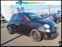 Recent Arrival! Black Abarth FWD 5-Speed C510 Manual