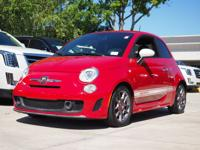 New Price! CARFAX One-Owner. 2013 Fiat 500 Abarth Red