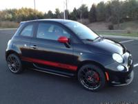 2013 Fiat 500 Abarth in showroom new condition with