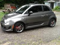 This is a perfect 2013 FIAT Abarth Turbo 5 speed with