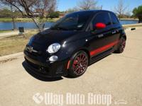 YOU ARE VIEWING A 2013 FIAT 500 ABARTH THAT IS BLACK
