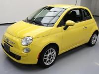 This awesome 2013 Fiat 500 comes loaded with the