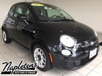 New Price! 2013 Fiat 500 in Nero (Black), LOCAL TRADE.