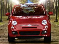 CARFAX One-Owner. Clean CARFAX. Red 2013 Fiat 500 Sport