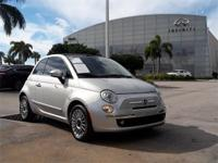 More is what you get!!!!! This beautiful 2013 Fiat 500c