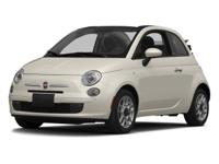 Fiat 500c Green Recent Arrival!  Options:  Front Wheel