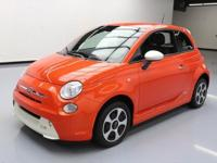 2013 Fiat 500 with 83kW Electric Motor,Leatherette