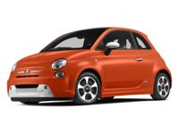 Options:  2013 Fiat 500E Battery Electric 2Dr