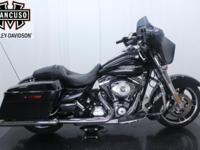 2013 FLHX Street Glide. With design and long range