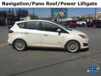 2013 Ford C-Max Hybrid SEL White Platinum Metallic