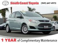 CARFAX One-Owner. Clean CARFAX. Green 2013 Ford C-Max