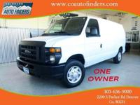 2013 White Ford E150 For Sale in Denver/Aurora. This