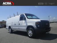 Ford Econoline Cargo Van, options include:  Keyless