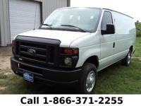 2013 Ford Econoline Van Features: Leather Seats -