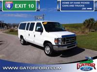 2013 E350 XLT 12-Passenger Seating w/Captain's Chairs,