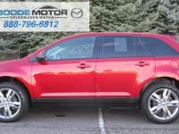 TOP OF THE LINE 2013 FORD EDGE SEL WITH FANTASTIC LOW
