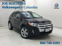 Black 2013 Ford Edge Limited AWD 6-Speed Automatic with