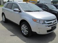 2013 FORD EDGE LIMITED AWD. REAR CAMERA, LEATHER HEATED