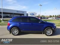 SEL trim. FUEL EFFICIENT 25 MPG Hwy/18 MPG City! CARFAX
