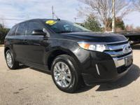 Clean CARFAX. AWD. 2013 Ford Edge LimitedAwards:*