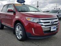Form meets function with the 2013 Ford Edge. This