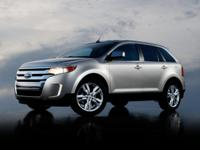 2013 Ford Edge and 2 Years of Maintenance Included.