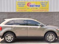 2013 Ford Edge Limited  in Grey, CLEAN CARFAX, ONE