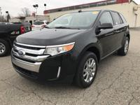 2013 FORD EDGE LIMITED AWD. WITH 62644 MILES. PUSH TO