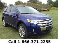 2013 Ford Edge Limited Features: Leather Seats - Push
