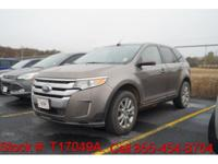 2013 Ford Edge Limited in Ginger Ale Metallic, This