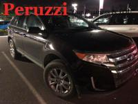 Clean CARFAX. Black 2013 Ford Edge Limited FWD 6-Speed