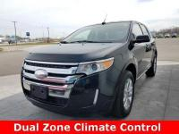 Clean CARFAX. 2013 Ford Edge Limited Tuxedo Black