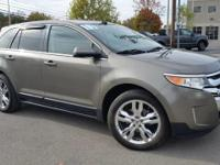 This 2013 Ford Edge Limited is proudly offered by Ford