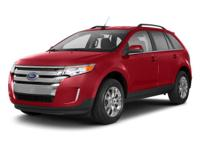 Lavishly luxurious, this 2013 Ford Edge will envelope