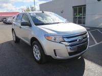 AWD, FORD CERTIFIED, 2013 Ford EdgeSE in Silver, Cruise