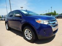 CARFAX One-Owner. Slate Metallic 2013 Ford Edge SE FWD