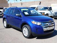 LOW MILES, This 2013 Ford Edge SE will sell fast -V6