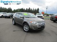Options:  2013 Ford Edge Sel|Mineral Gray