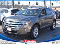 Recent Arrival! AWD. 2013 Ford Edge SEL Gold AWD