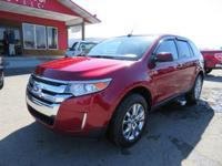 Options:  2013 Ford Edge Heated Leather Seats!