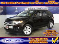 **** FRESH IN FOLKS! THIS 2013 FORD EDGE SEL HAS JUST