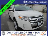 2013 Ford Edge SEL CARFAX One-Owner. Clean CARFAX.