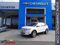 Options:  2013 Ford Edge Sel|White|Awd. Come To The